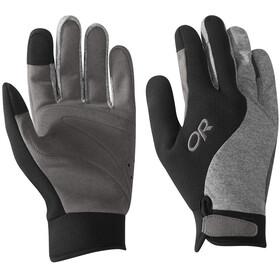 Outdoor Research Upsurge Paddle Handschoenen, grijs/zwart